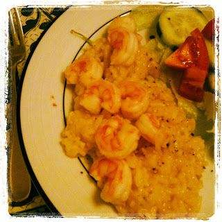 Pressure Cooker Shrimp Risotto | Random Recycling: Healthy Living for Modern Families