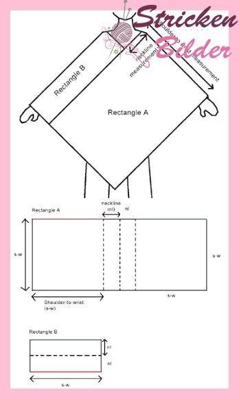 Photo of Gestricktes Poncho-Muster mit Video-Tutorial für Anfänger bis Fortgeschrittene …