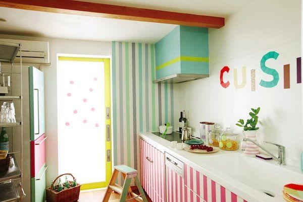 Masking Tape Kitchen Washi Tape Decor Home Decor Kitchen Design Color