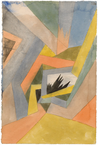 The Idea Of Firs By Paul Klee 1917 Guggenheim Museum Solomon R Guggenheim Museum New York Bequest Eve Clende In 2020 Paul Klee Art Famous Watercolor Artists Art