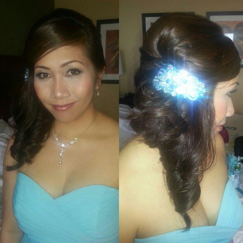 Maid Of Honor Hair & Makeup