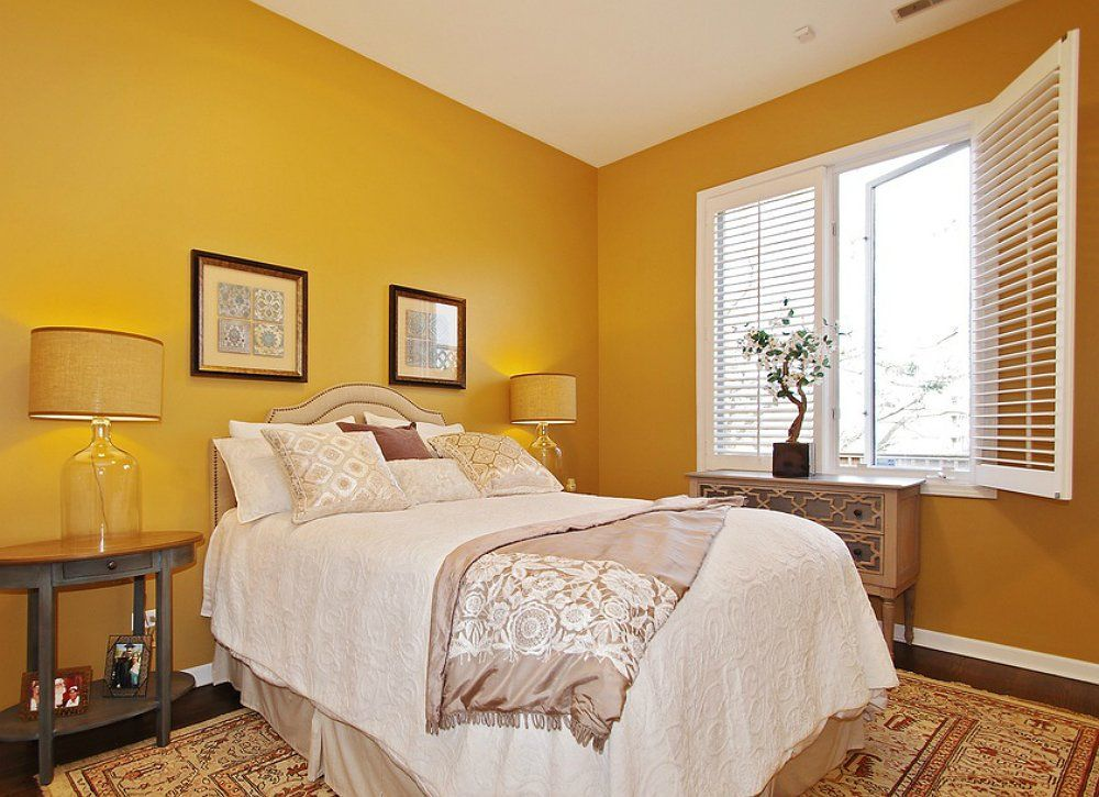 7 Ways Your Paint Picks Affect Your Mood Bright bedroom