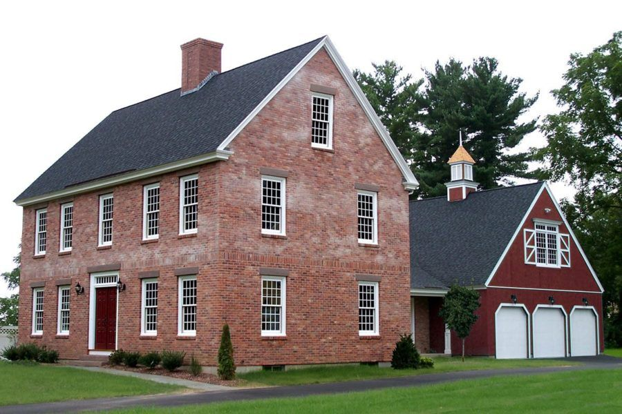 These 15 Colonial Style Homes Will Have You Feeling Warm And Cozy Colonial House Plans Colonial House Colonial Style Homes