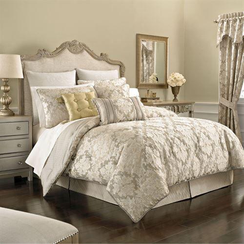 Ava Leaf Comforter Bedding by Croscill | Comforter sets ...