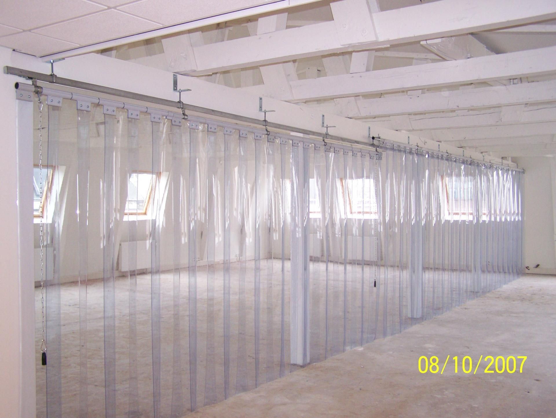 industrial pvc curtains by haagh