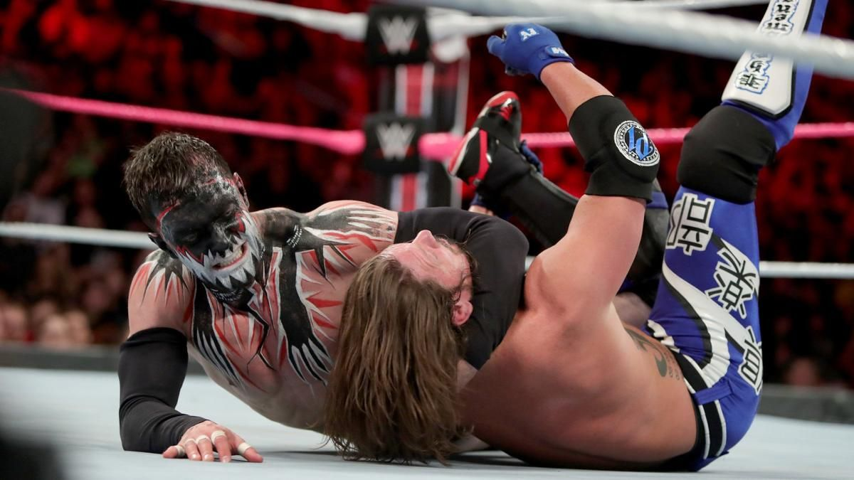 Photos Aj Styles Duels The Demon Finn Balor In An Incredible