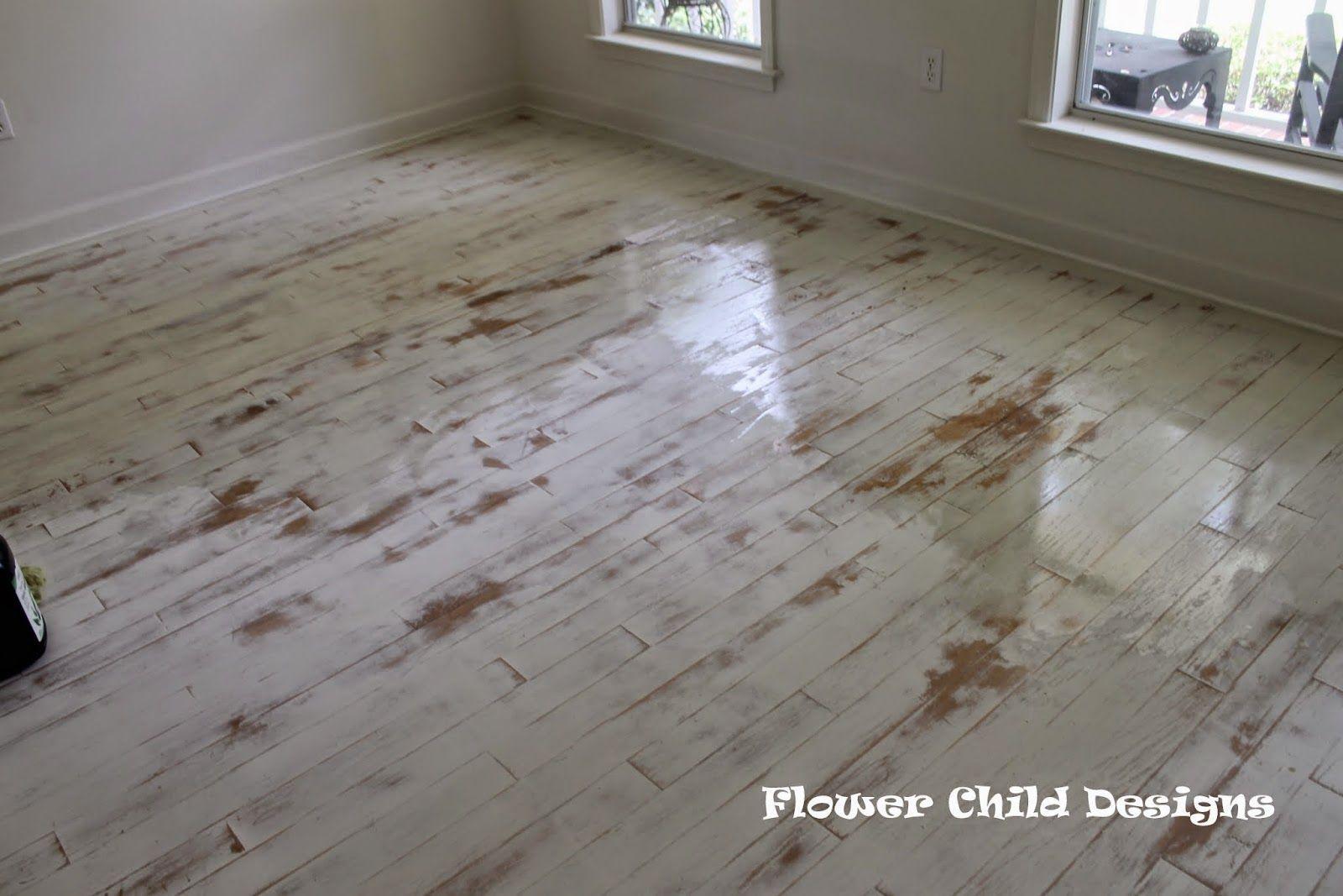 Distressed White Painted Wood Floors Google Search Painted Wood Floors Wood Floors White Painted Wood Floors