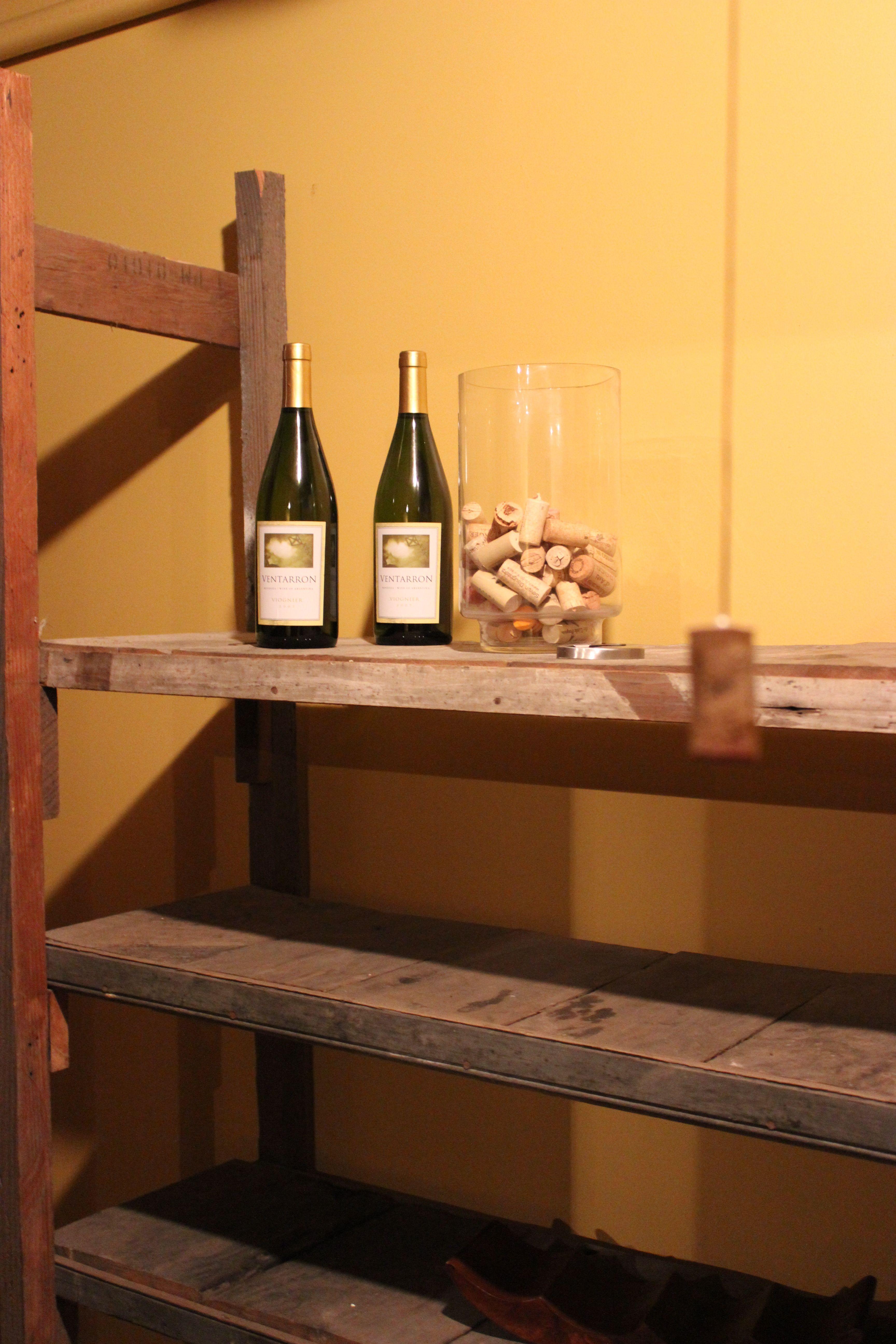 Wine cellar. MoXie Ladies, LLC.