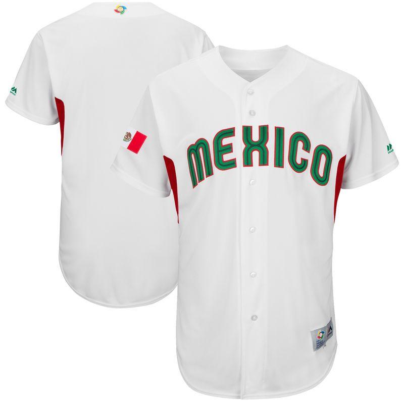 new arrival 80e64 f3307 Mexico Baseball Majestic 2017 World Baseball Classic ...