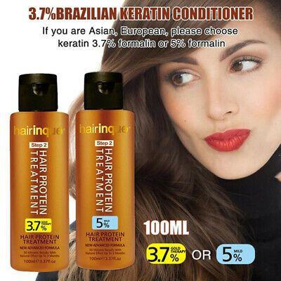 (Ad) 100ml Brazilian Keratin Conditioner Brazilian Straightening Keratin Shampoo