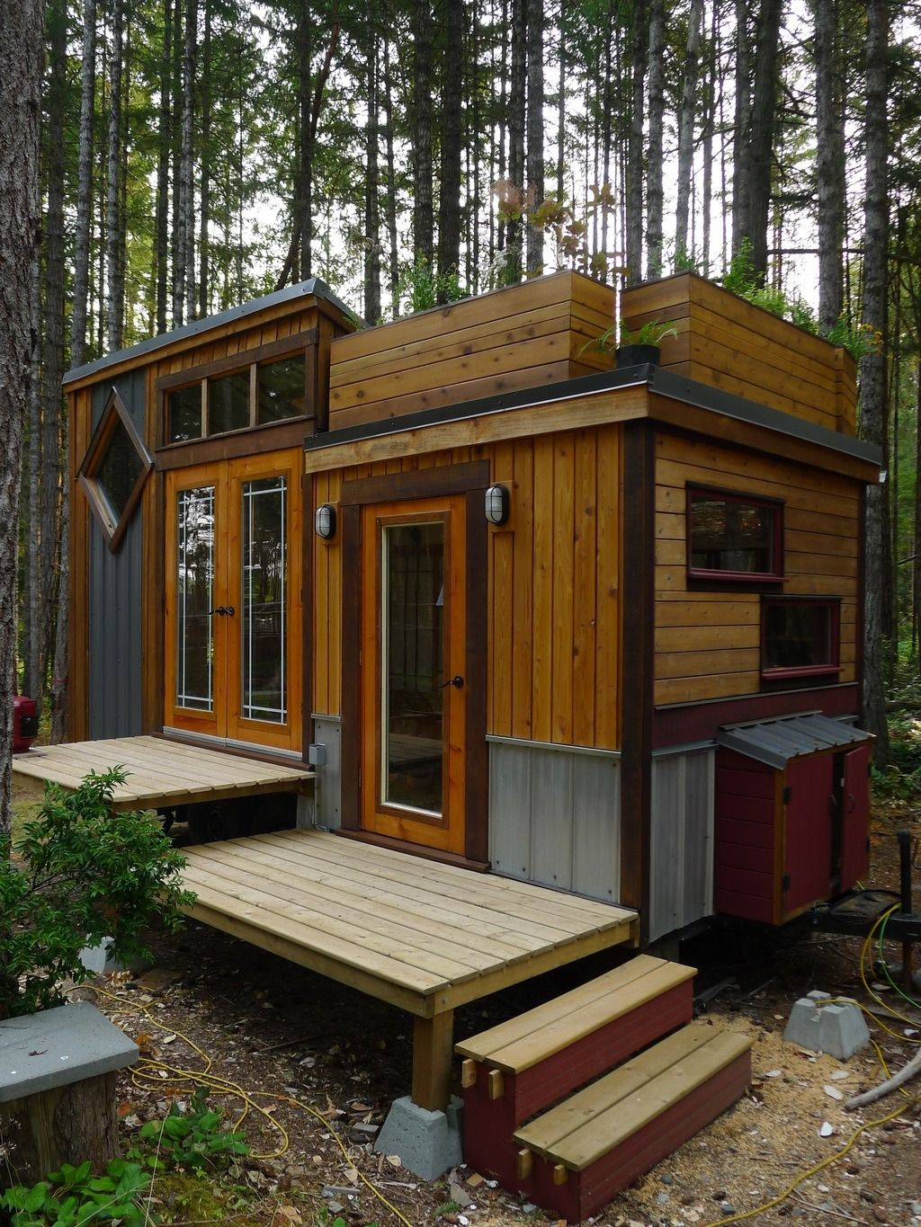 Room Of Requirement 150 Sq Ft Tiny House Exterior Tiny House