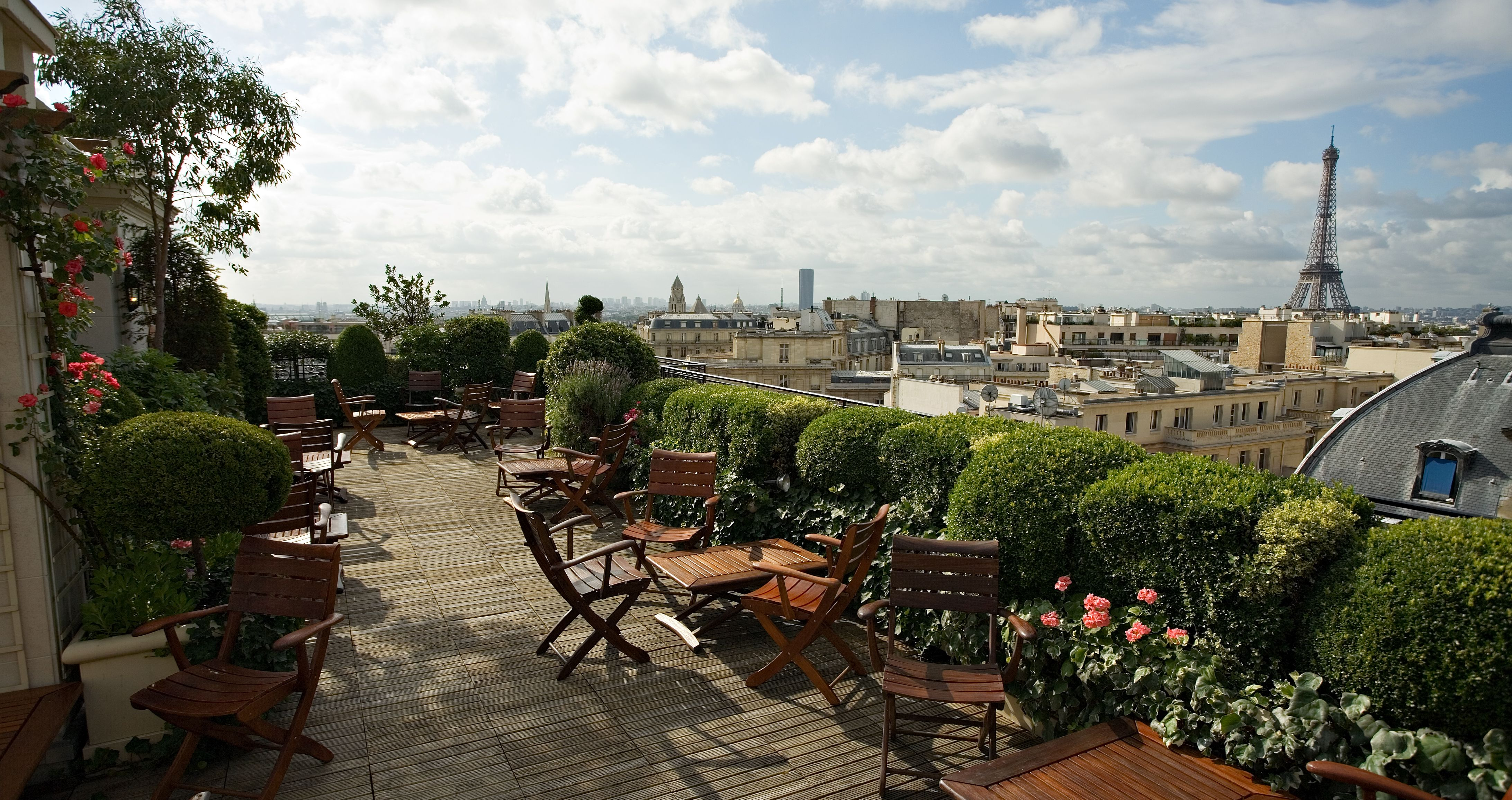 The Terrace is located on the rooftop of The Raphael and offers a magnificent 360 degree panoramic view over Paris. | Paris, Paris photos, Paris place