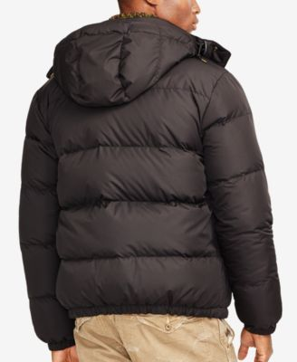 ad04c5976 Polo Ralph Lauren Elmwood Down-Feathers Jacket $189.99 Crafted from ...