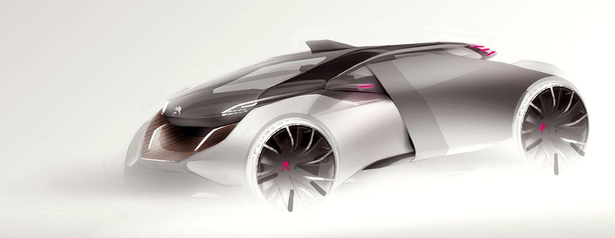Sydney hardy vehicle sketches voiture volution et technologie - Croquis voiture ...