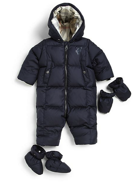 e0b316bbd burberry puffer snowsuit with gloves and booties - Snow gear for ...