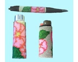 Cherokee Rose Accessory Set Bead Pattern E-Book This eBook contains the patterns for the pen wrap, big Bic lighter cover, and lip balm cover.  Each of these can be purchased separately.