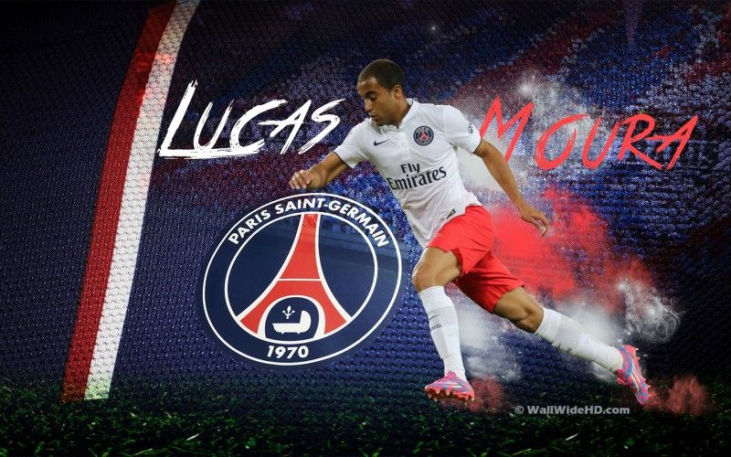 Lucas Moura 2015 PSG Wallpaper