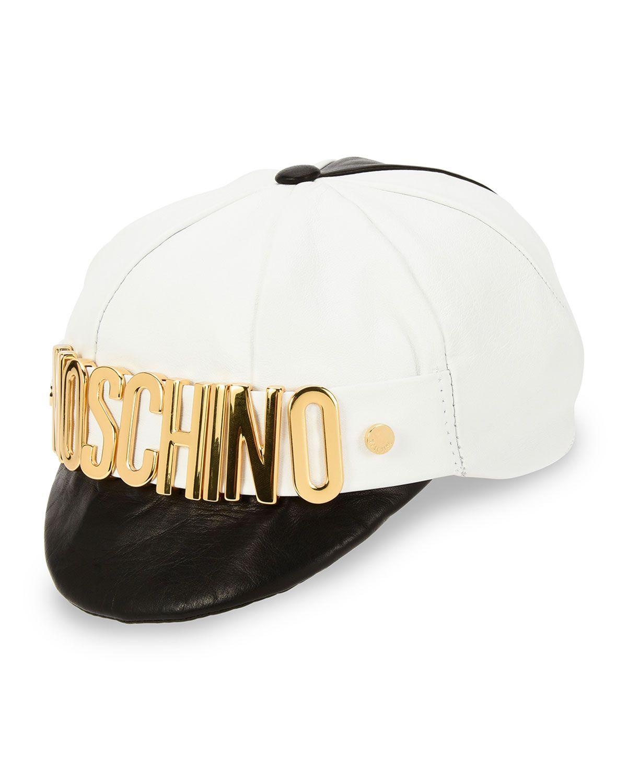 34e798fe3be Golden-Logo Half-Brim Hat