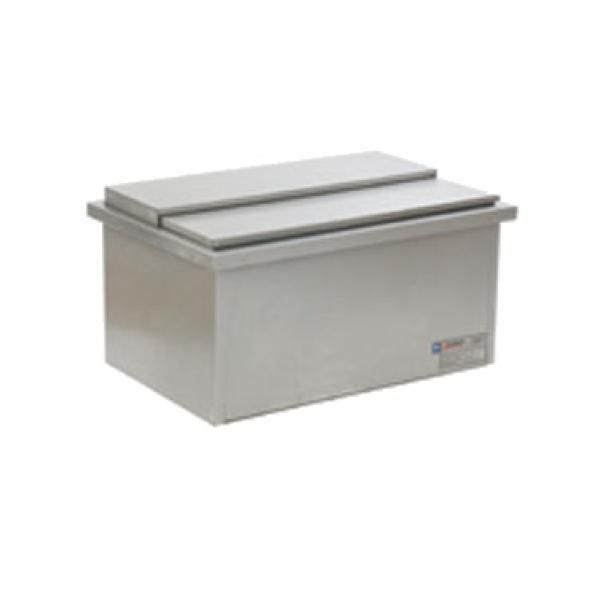 Spec Bar Drop In Ice Chest 30 W 20 L Stainless Steel