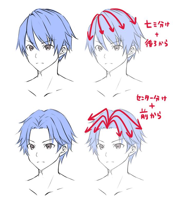 Photo of 男主人公を描こう! 男性キャラクターの描き方 – 髪の描き方編 – | いちあっぷ