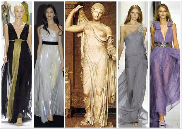 Ancient greece fashion inspiration crete greece Rome fashion designers