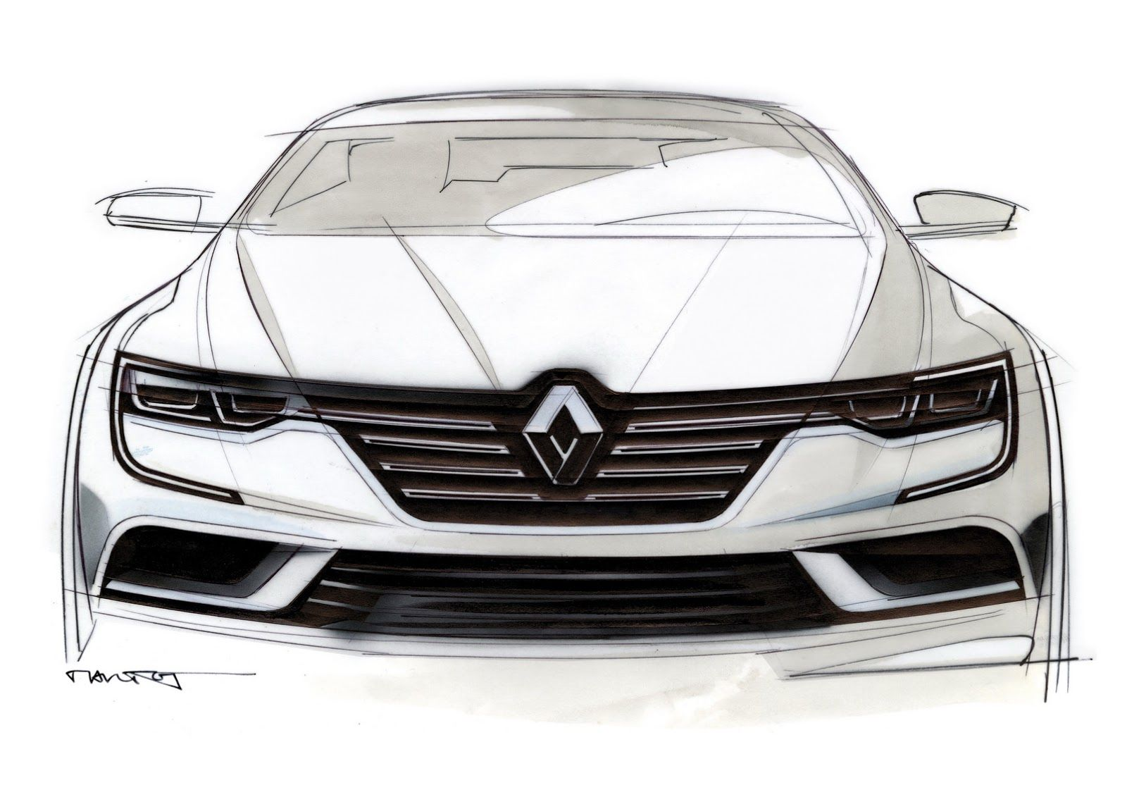 The New Renault Talisman Is Out And It's… Unmistakably German [68 Pics & Video] | Carscoops