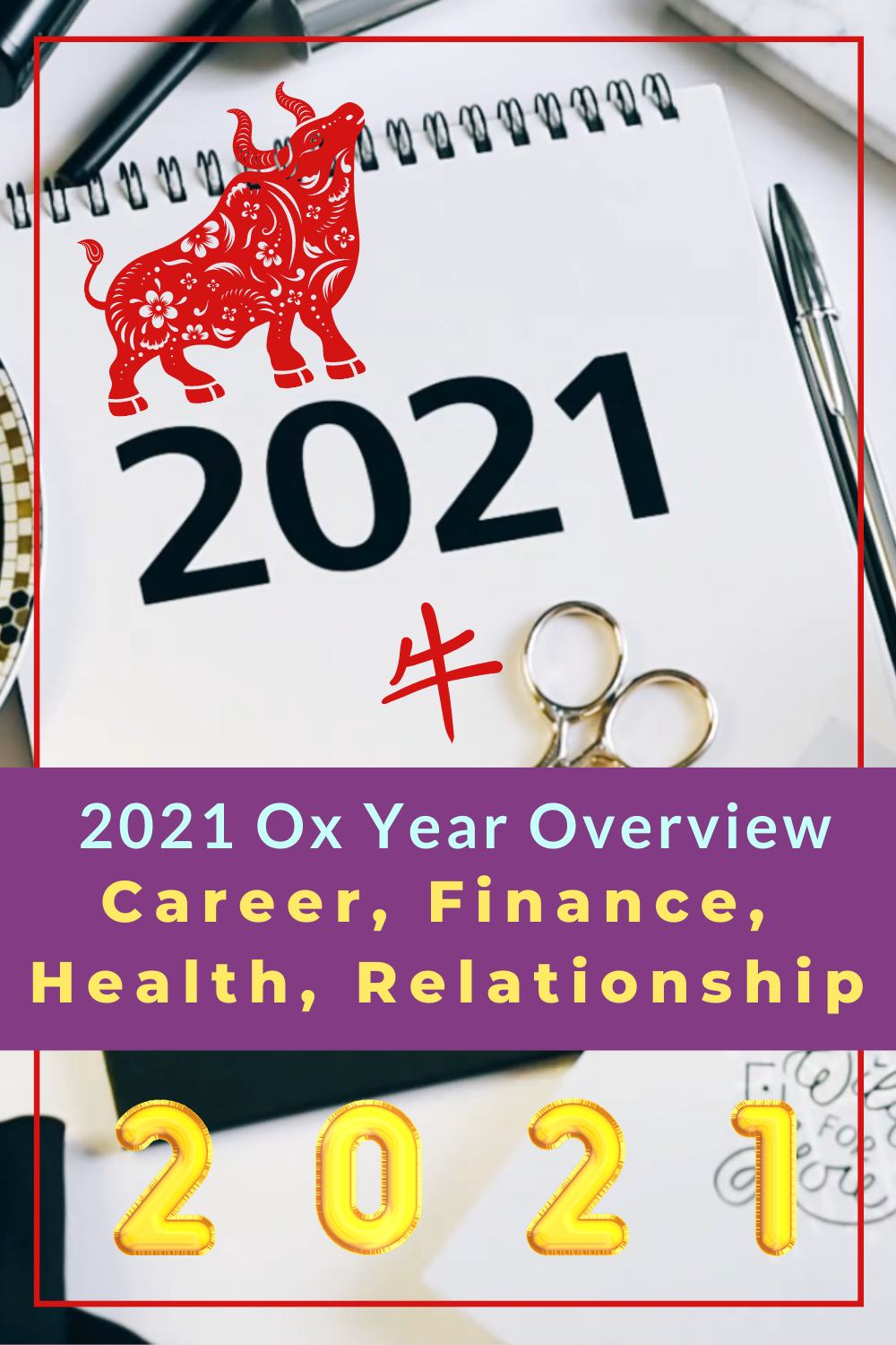 2021 Ox Year Overview Lucky Colour Feng Shui Flying Star Feng Shui