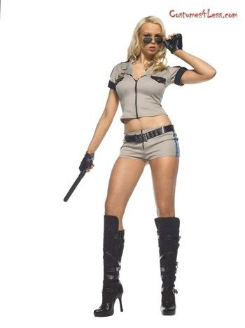 Strip Search Sheriff Adult Costume at Costumes4Less Costumes I - ladies halloween costume ideas