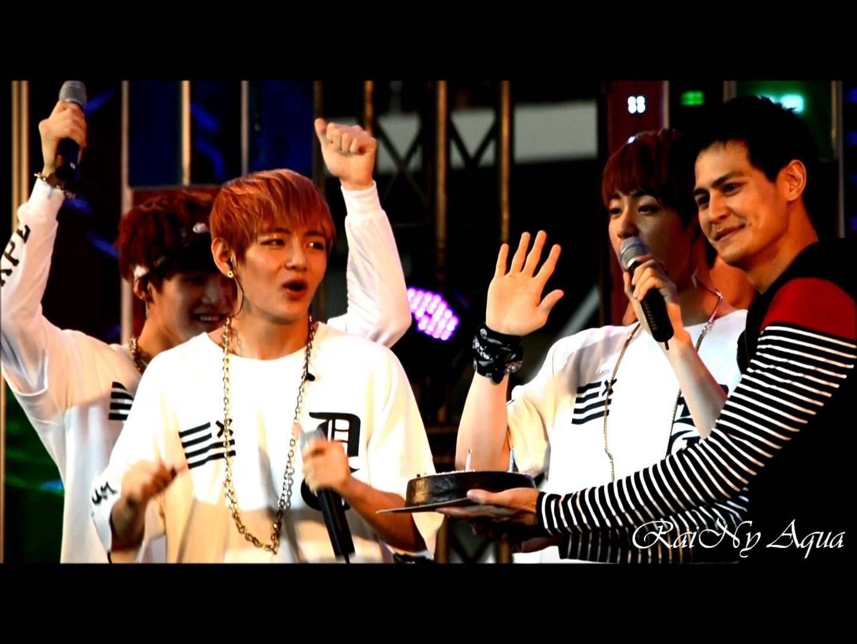 131130 Bangtan Boys 방탄소년단 : Jin & V Birthday Cake Surprise