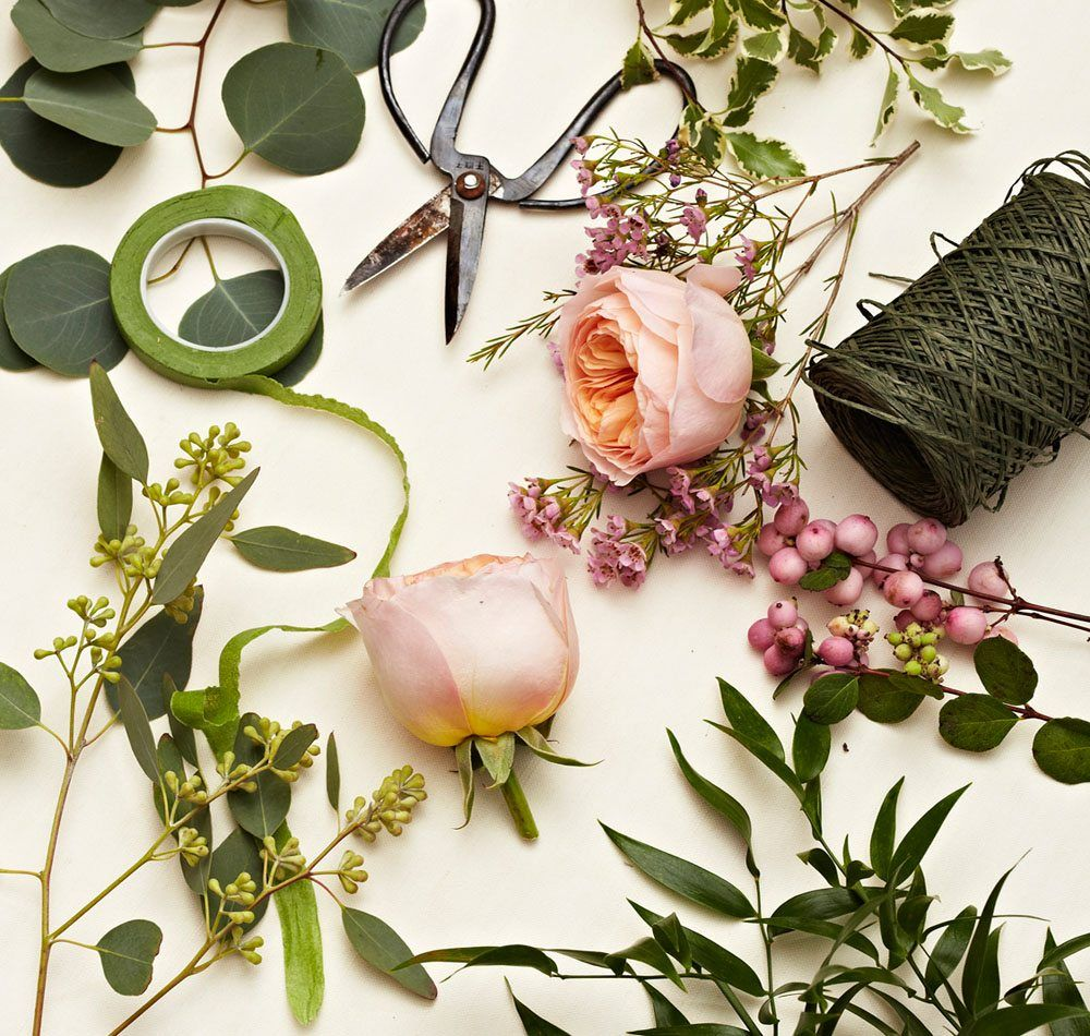 Learn How To Create Your Own Floral Garlands