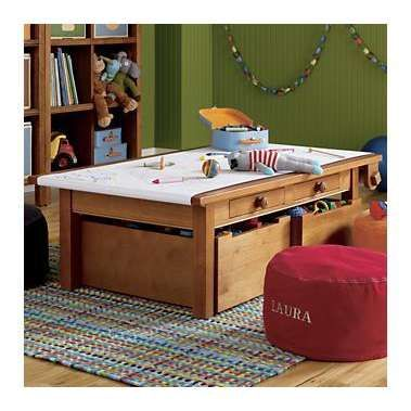 Kids Play Tables: Kids Honey Adjustable Activity Table In Holiday 2012 From  The Land Of Nod