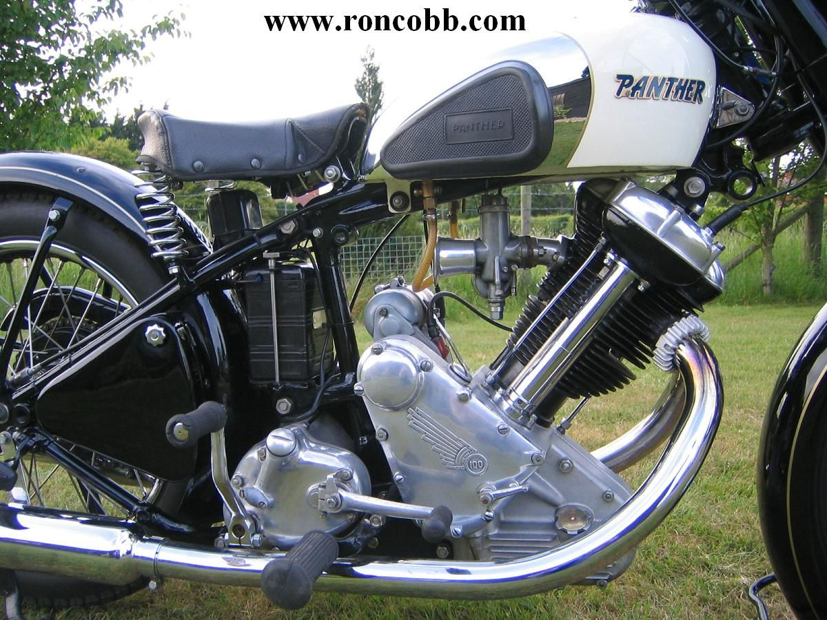 1954 panther motorcycle for sale
