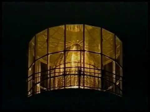 Lighthouses. Short clip showing different classic Fresnel lighthouse lenses.