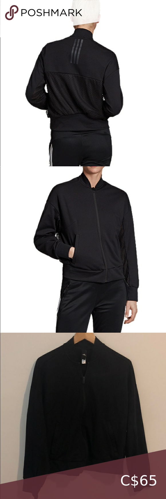 Adidas Sport ID Mesh Bomber Jacket