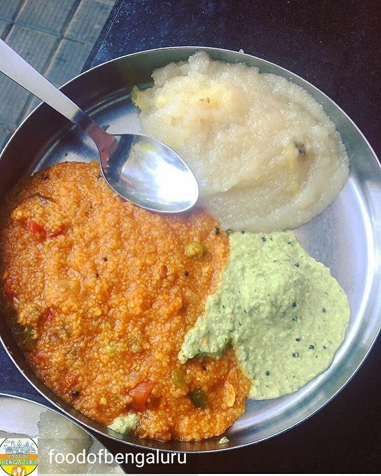 Via Foodofbengaluru Chow Chow Bath Where Taaza Thindi Banashankari Jayanagar Credits Rakshitha Ravi Want Yo Recipes From Heaven Food Food Reviews