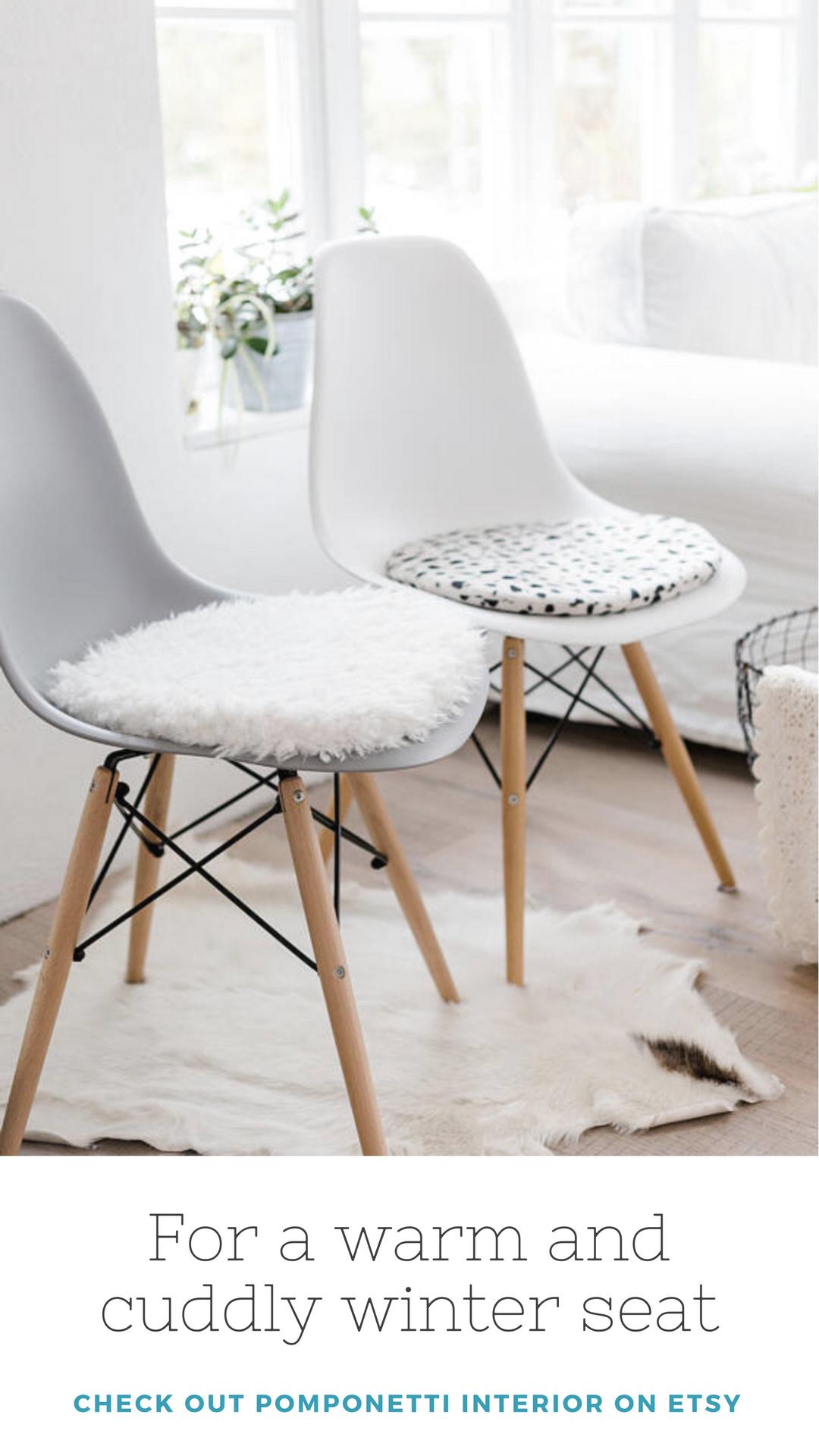 Eames Chair Sitzkissen in meinem etsyshop findest du individuelle sitzkissen für deinen