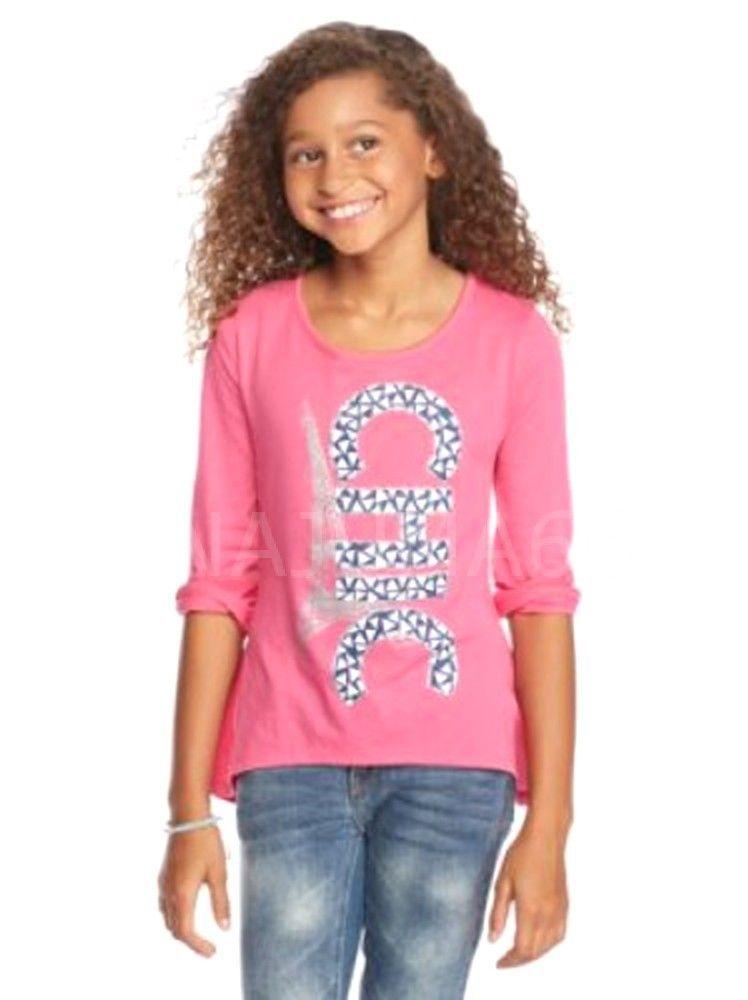 Brand New J Khaki Paris Chic Glitter High Low Top Pink Sz S Nwt