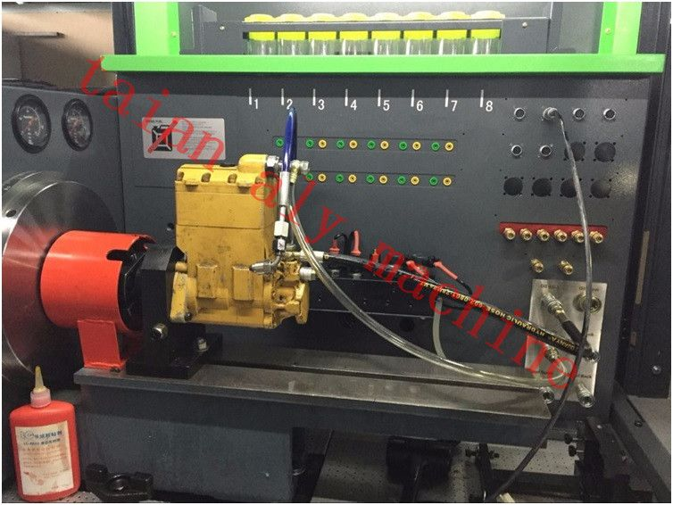 Pin on Diesel fuel injection pump test bench
