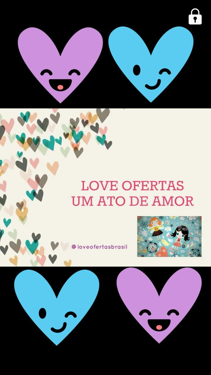 Acompanhe as Novidades em @loveofertasbrasil