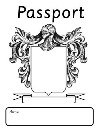 Passport To The New Year  A Simple Template For Getting To Know