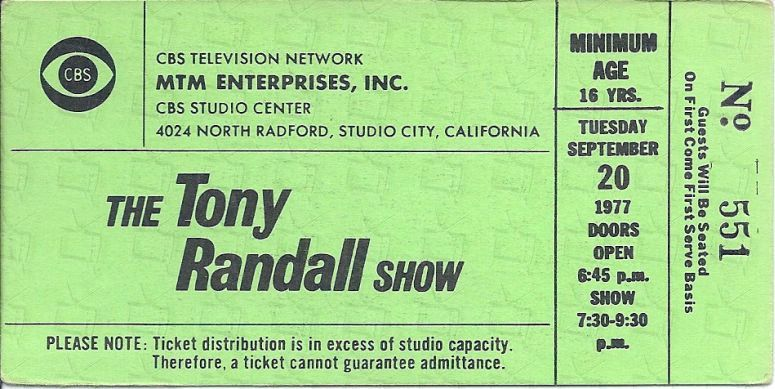 Tony randall show television network tony randall tony