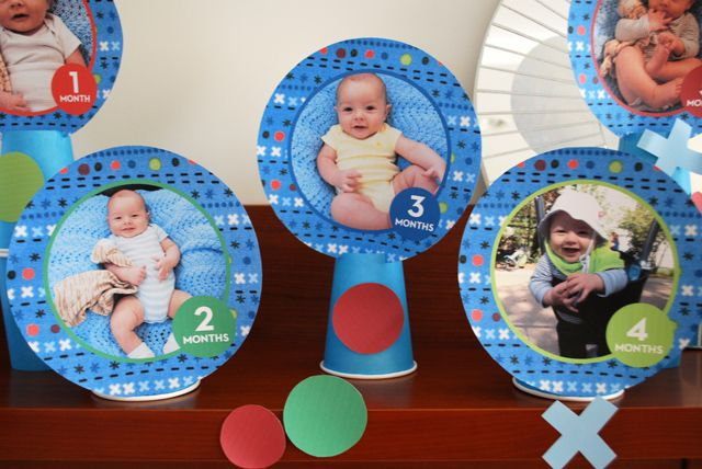 Baby Month By Photo Idea For A