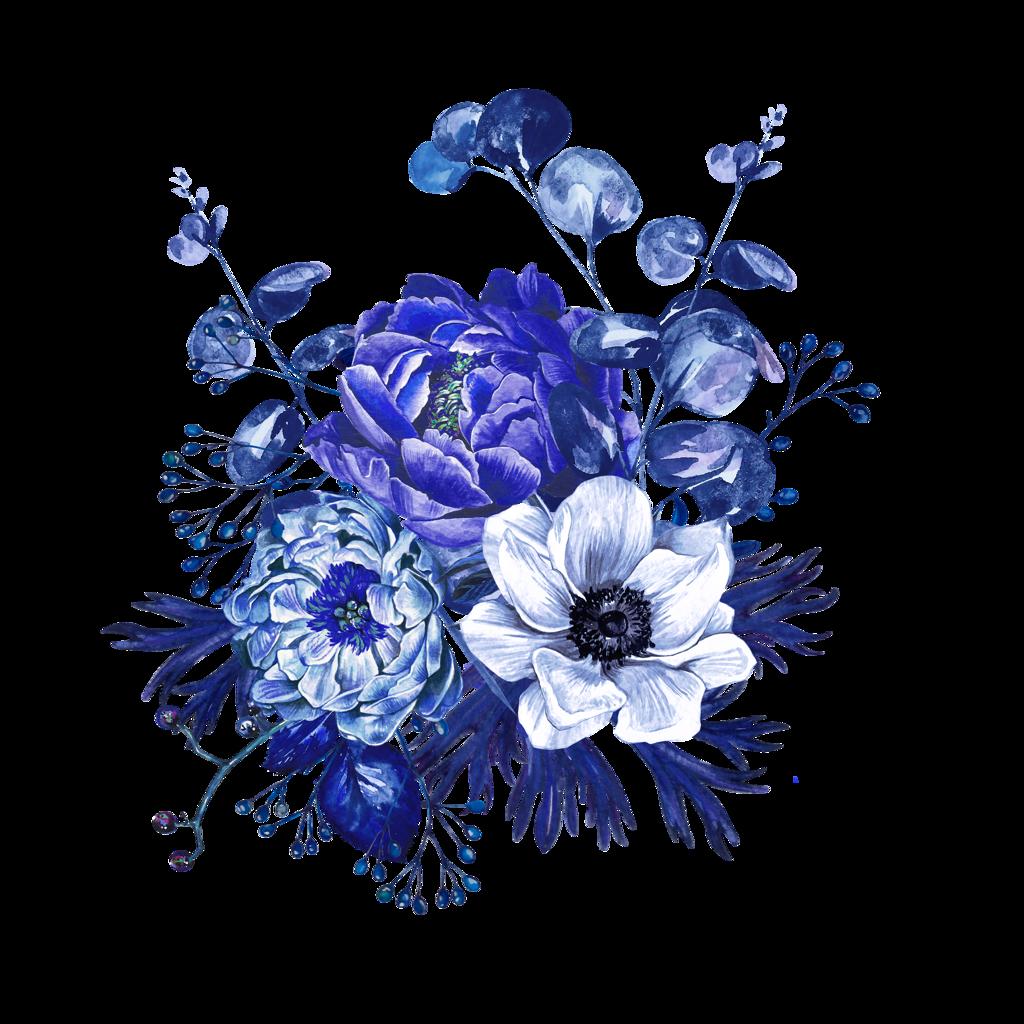 Bouquet02.png | Цветочный рисунок, Цветочные иллюстрации и ...