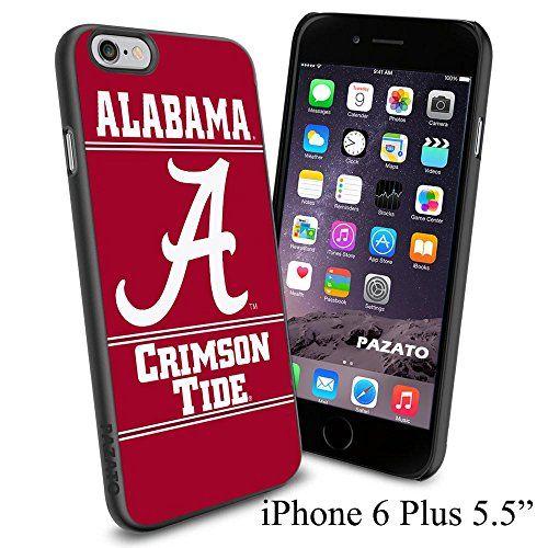"NCAA A ALABAMA CRIMSON TIDE , Cool iPhone 6 Plus (6+ , 5.5"") Smartphone Case Cover Collector iphone TPU Rubber Case Black Phoneaholic http://www.amazon.com/dp/B00VVMU128/ref=cm_sw_r_pi_dp_bt-lvb1AXGK26"