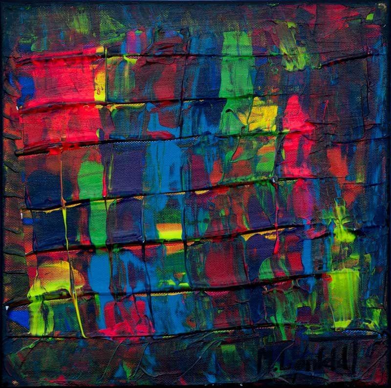Mini Abstracts Xxi Malerier Abstract Painting