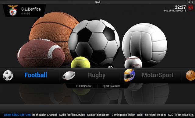 Kodi Come Vedere Gratis Partite Di Calcio E Sport Calcio Sport Parto