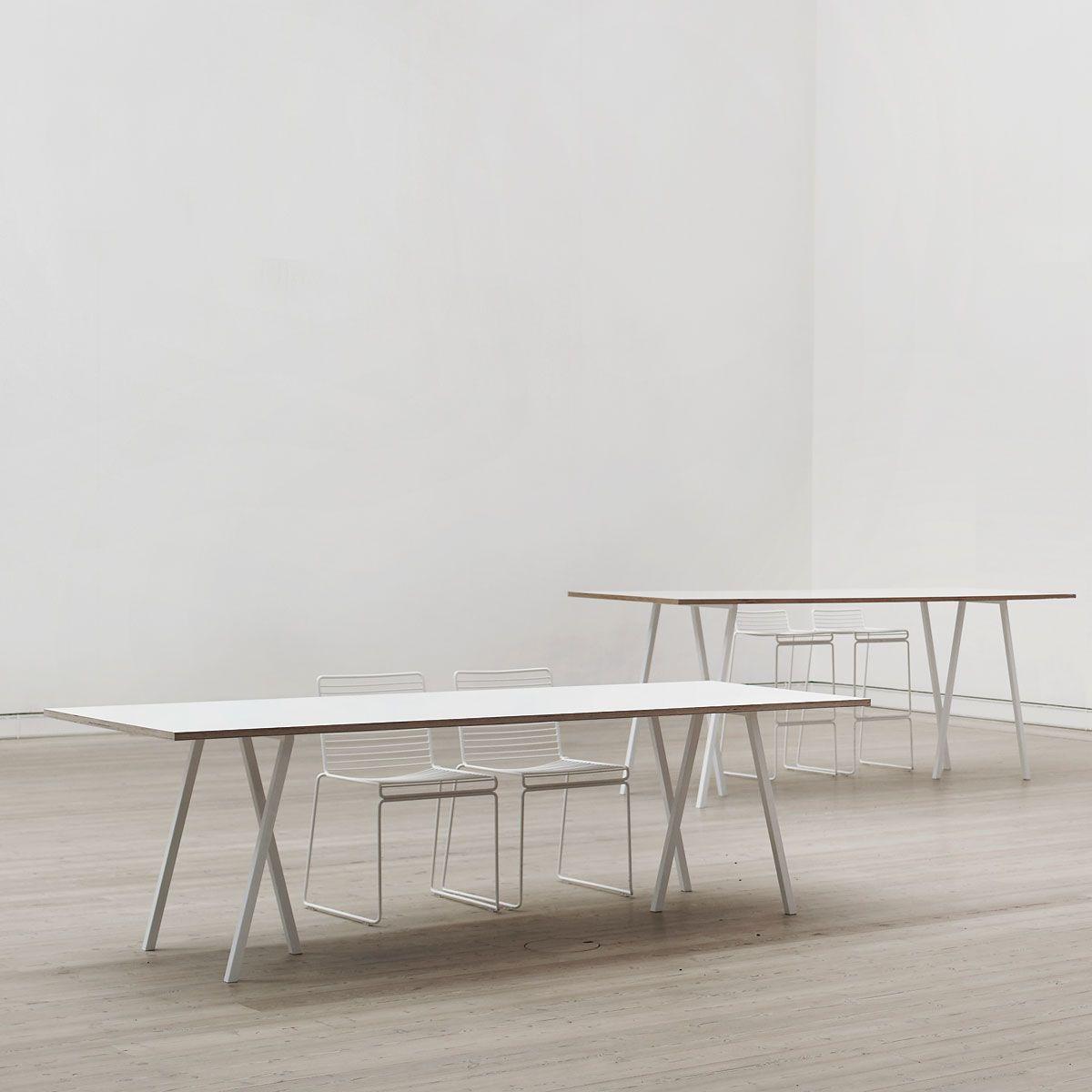 Hay - Loop Stand Tisch, 200, schwarz | Stehen, Schöne möbel und Pimp