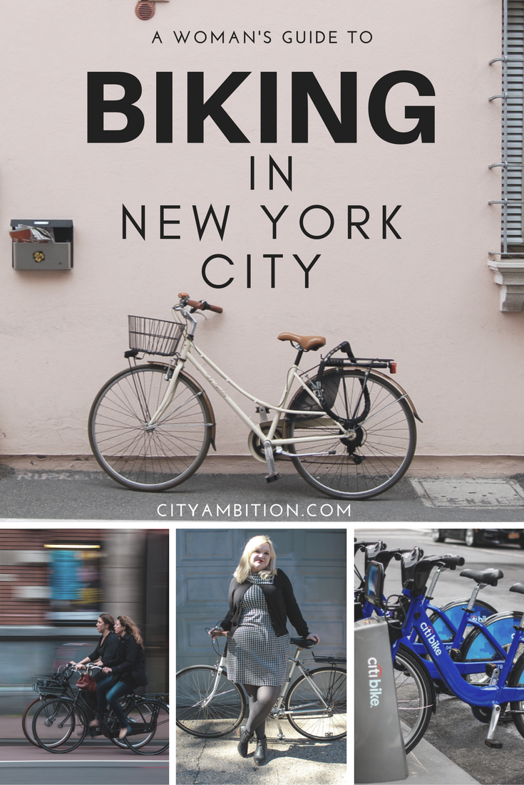 A Woman S Guide To Biking In New York With Images Bike Bike