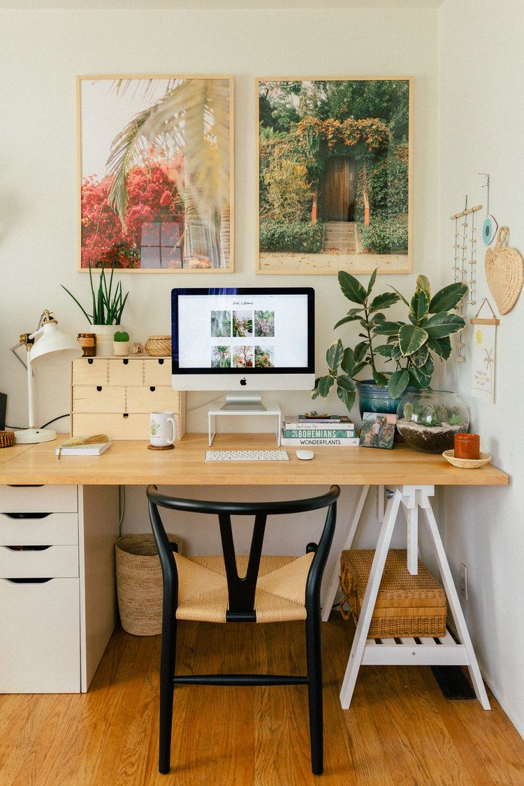 Our Home Office/Guest Bedroom — Black & Blooms