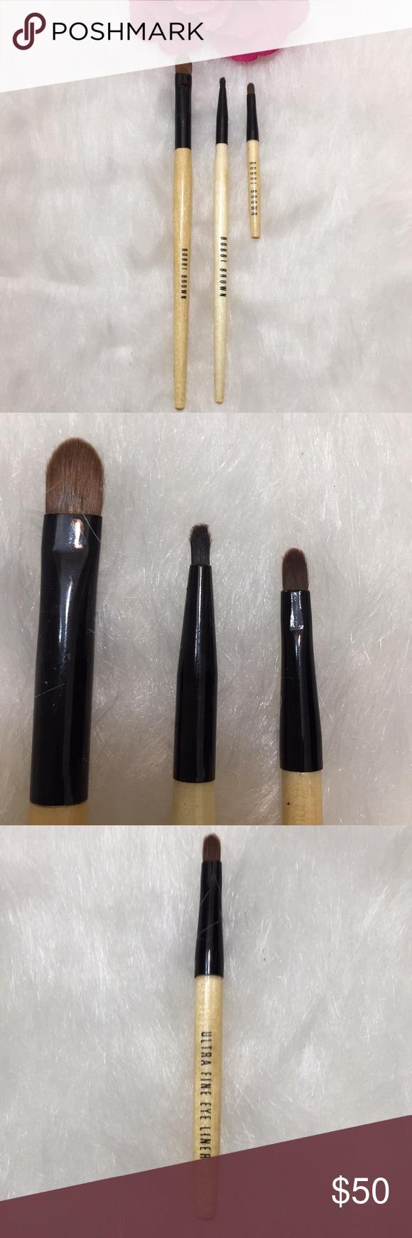Bobbi Brown Makeup Brushes in 2020 (With images) Bobbi